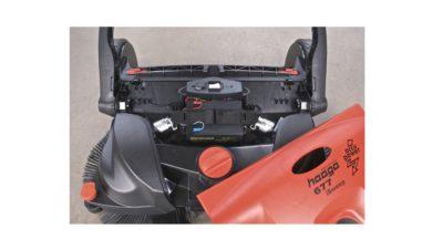 Haaga veegmachine batterij