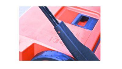 Haaga veegmachine duwbeugel houder