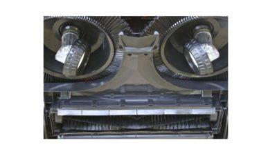 Haaga veegmachine opveegplaat
