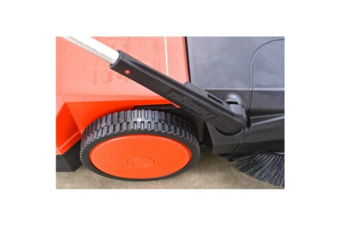 Haaga veegmachine wiel